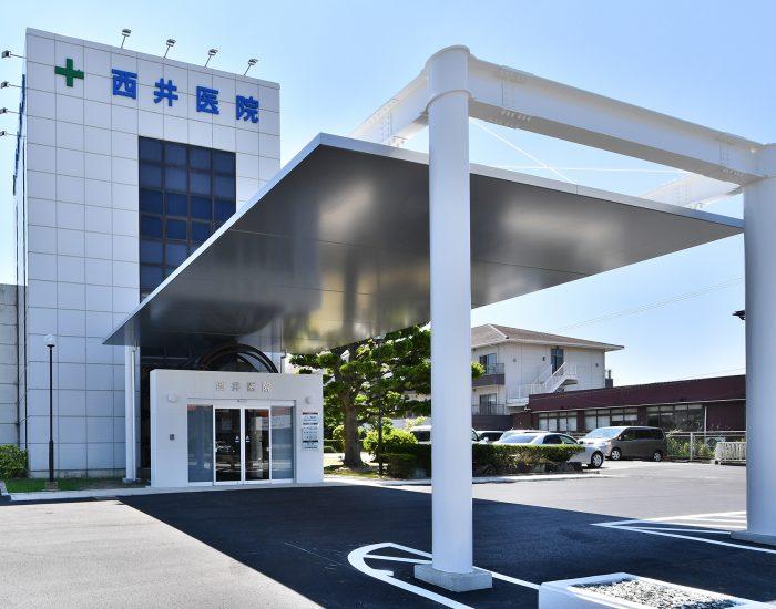 施工事例「西井医院」公開致しました。